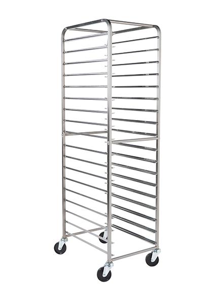 Trays and tray racks