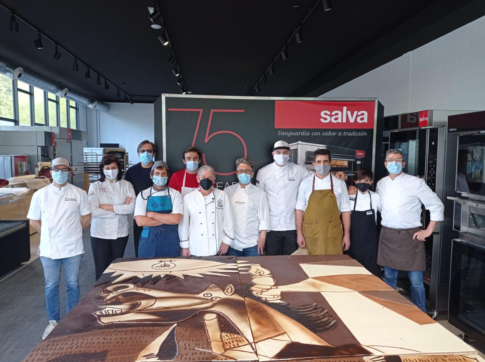 Inaugurado el Guernica en chocolate