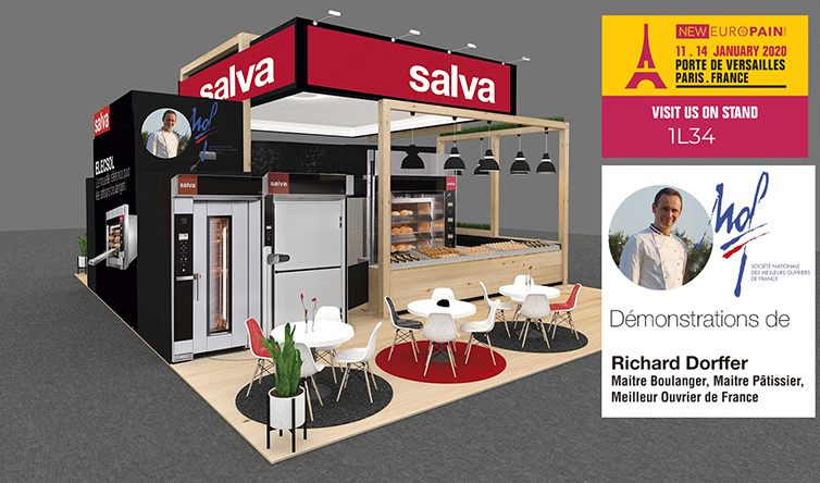 Paris, January 11 to 14, SALVA will attend the EUROPAIN Exhibition and feature Richard Dorffer in a demonstration event